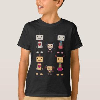 T-shirt Garçon de robot, fille de robot, chien de robot