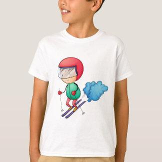 T-shirt Garçon de ski