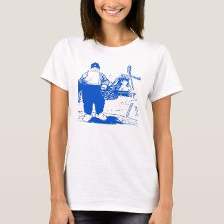 T-shirt Garçon néerlandais par le moulin à vent