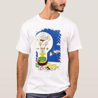 T-shirt Garçon tenant un filet de papillon avec une