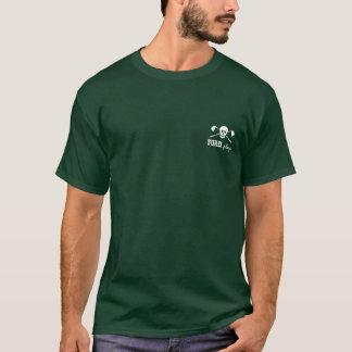 T-shirt Garçons de crâne de golf mauvais - antérieurs !