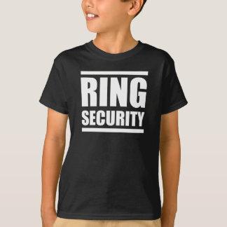 T-shirt Garçons de sécurité d'anneau épousant la chemise