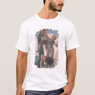 T-shirt Garçons grimpant à un arbre