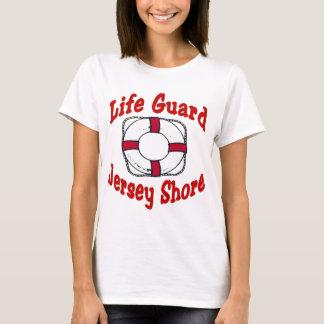 T-shirt Garde de vie de rivage du Jersey