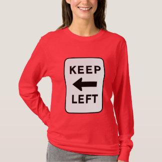 T-shirt Gardez à gauche