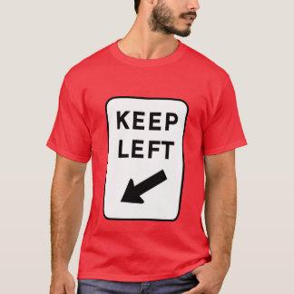 T-shirt Gardez à gauche (l'once)
