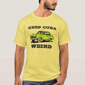 T-shirt Gardez de chemise vintage étrange de voiture du