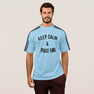 T-shirt Gardez Dieu de calme et de confiance
