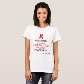T-shirt Gardez la chemise de conscience d'épidermolyses