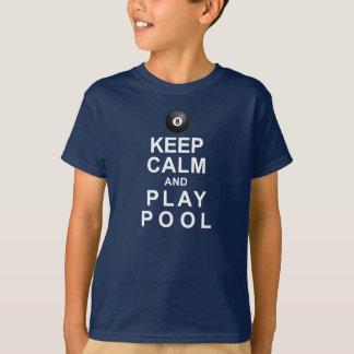 T-shirt Gardez la piscine de calme et de jeu
