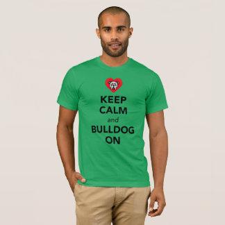 T-shirt Gardez le calme