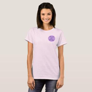 T-shirt Gardez le calme avec ce qui fait un NerdGirl
