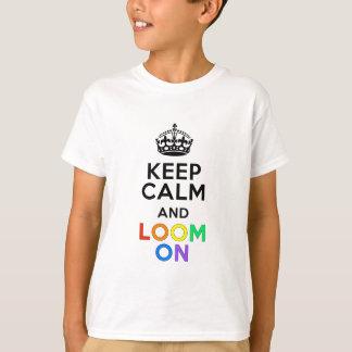 T-shirt Gardez le calme et apparaissez indistinctement