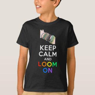 T-shirt Gardez le calme et apparaissez indistinctement sur