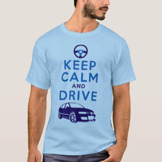 T-shirt Gardez le calme et conduisez - Léon /version4