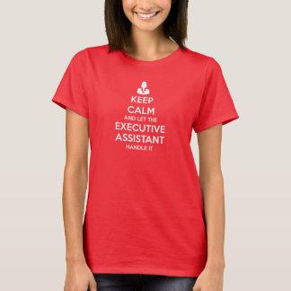 T-shirt Gardez le calme et laissez la poignée auxiliaire