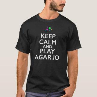 T-shirt Gardez le calme et le jeu Agar.io