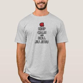 T-shirt gardez le calme pour faire le robinet de fin de