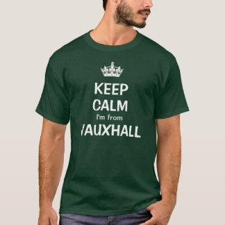 T-shirt Gardez le calme que je suis de Vauxhall