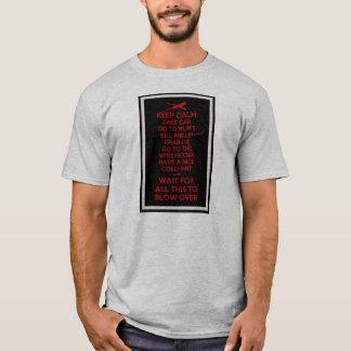 T-shirt Gardez le calme - Sean des morts