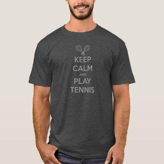 T-shirt Gardez les sports e d'argile de sport de balle de