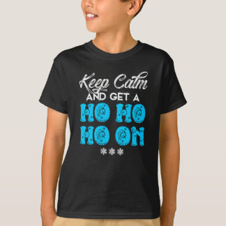 T-shirt Gardez Noël calme
