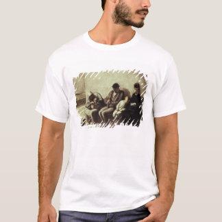 T-shirt Gare ferroviaire de bord de la route