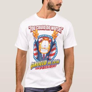 T-shirt Garfield pour le président en 2016