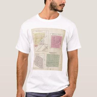 T-shirt Garfield, roche de Pawnee, Heizer, Hoisington, le
