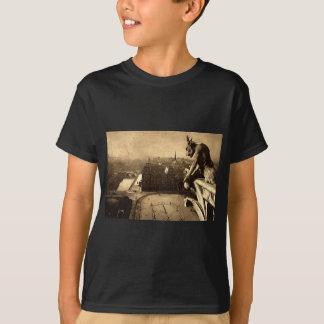 T-shirt Gargouille Notre Dame, cru 1912 de Paris France