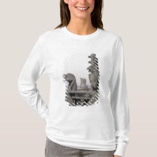 T-shirt Gargouilles sur la balustrade du grand