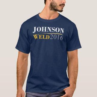 T-shirt Gary Johnson - logo de campagne de la soudure 2016