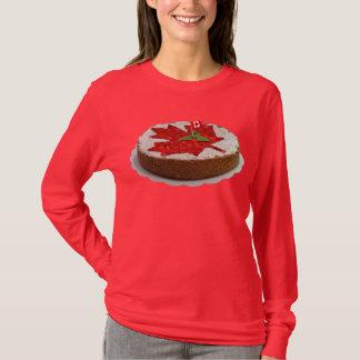 T-shirt Gâteau canadien de feuille d'érable de cerise