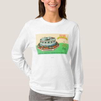 T-shirt Gâteau d'Exposition universelle 1939 par Baker de