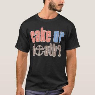 T-shirt Gâteau ou mort