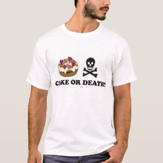 T-shirt gâteau ou mort (chocolat)