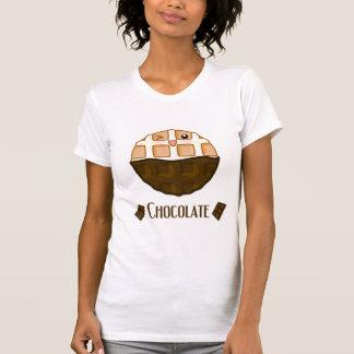 T-shirt Gaufre de chocolat