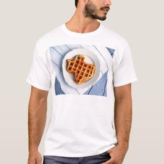 T-shirt Gaufre du Texas
