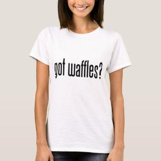 T-shirt gaufres obtenues ?