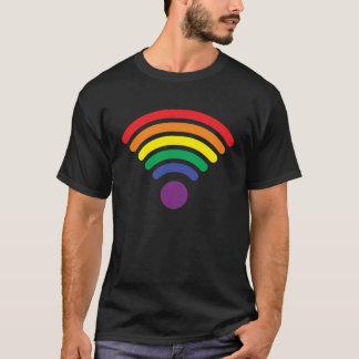 T-shirt Gay pride - WI fi