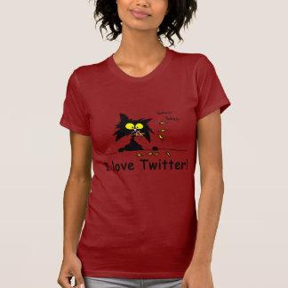 T-shirt Gazouillement d'amours de Kitty de tuf