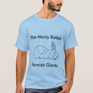 T-shirt géant flamand du lapin des hommes