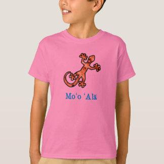 T-shirt Gecko hawaïen d'or