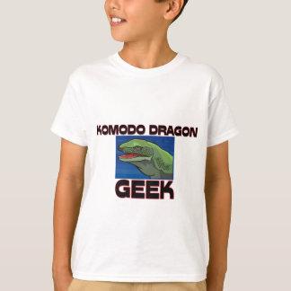 T-shirt Geek de dragon de Komodo