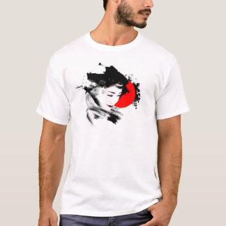 T-shirt Geisha japonais