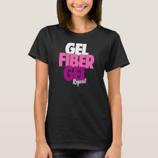 T-shirt Gel, fibre, gel, répétition - la fibre 3D fouette