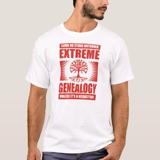 T-shirt Généalogie extrême - aucune pierre Unturned