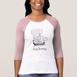 T-shirt Généalogie tôt