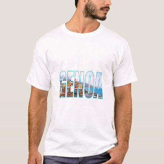 T-shirt Gênes Italie