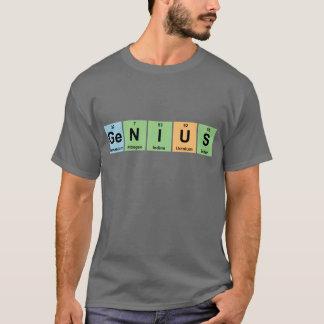 T-shirt Génie - Tableau périodique des produits d'éléments